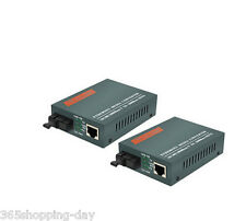 Fiber Optical Media Converter Single port 20KM HTB-GS-03/AB SM--1000Mbps 1Pair