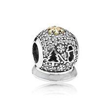 Pandora Retired 925/14k #USB794200 Black Friday 2015 Ltd slide bead charm  NWOT