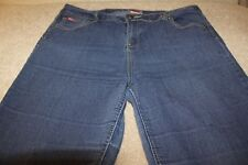 """Women's Ladies Lee Cooper Stretch Tapered Jeans~14S~33W~27L~Mid Rise (10.5"""")"""