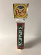 "Boulevard Brewing Co Ginger Lemon Radler Beer Tap Handle Brick Tower NEW BOX 11"""