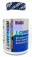 EVLUTION Nutrition EVL CARNITINE 500 60 caps 500mg Pure L-CARNITINE Fat Burning