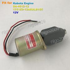 SA-4612-12 12V  Fuel Shutoff Stop Solenoid Valve 1751ES 12V for Kubota Engines