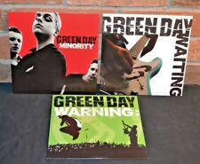 """GREEN DAY - Minority/Warning/Waiting, Limited COLORED VINYL 7"""" SET New!"""