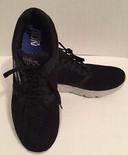 Men's Skechers GoRun 400 Lace Up Mesh Goga Run Sneakers Shoes Size 12 Black
