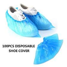 100Pcs Waterproof Non-Slip Disposable Shoe Covers Dustproof Hospital Hygienic
