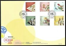 Hong Kong, China 2020 Chess Games Delight Stamp FDC Toy 棋樂無窮