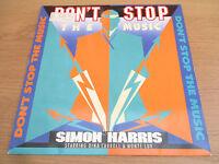 "S Harris Dina Carroll, Monte Luv – Don't Stop The Music VINYL 12"" 1990 BCM 12473"