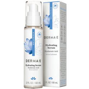 DERMA E - Hydrating Serum with Hyaluronic Acid - 2 fl. oz. (60 ml)