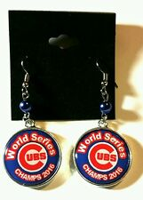 Chicago Cubs Champs earring