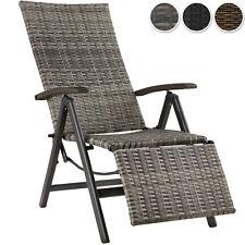 Silla de jardín Relajación Resto del Pie sillones de ratán muebles de terraza al aire libre