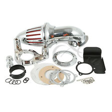 Chrome Air Cleaner Intake Filter For Harley Touring Glide 2008-2012 2010 2011 09