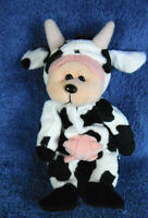 *1920b*  Creamy the Cow bear - Skansen Beanie Kids - plush - 22cm