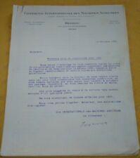 Courrier Machines Agricoles Deering Tours  Nouveaux prix et conditions pour 1933