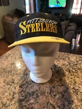 Vintage Pittsburgh Steelers Snapback Hat Cap NFL Football Annco 90s NEW!