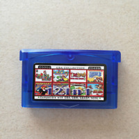 12 In 1 Gameboy Advance Gba Video Game - Multi Cart - Mario Seria Christmas Gift