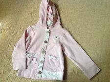 New With Tags Pink Hooded Jacket By Next In Size 4 To 5 Years