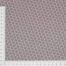 Grau Serie Bijoux Falscher Uni Patchwork Stoff Baumwolle