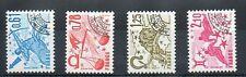 Serie des timbres Préoblitérés N° YT 154 à 157 neufs **