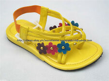 SO CHEAP! GOOD LUCK STRAPPY SANDALS SHOES 3-4 yo SZ 11/27.5 MADE IN KOREA BNEW