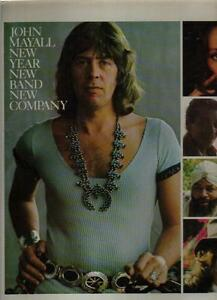 record 33 LP - JOHN MAYALL - NEW YEAR - NEW BAND - NEW COMPANY - HOLLAND