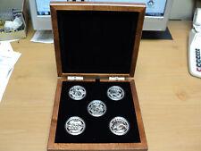 2013 O Canada Five Coin One Ounce Silver Set