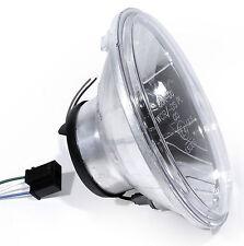 "7 "" H4 Clear Glass Headlight Insert for Harley Davidson Honda Suzuki Universal"