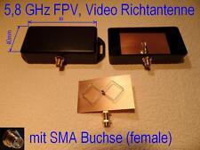 5,8 GHz  FPV Video Biquad Richtantenne Diversity  SMA Buchse Qualität RC