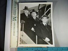 Rare Hist Orig VTG 1946 Dr Herman J Muller James B Sumner Percy W Bridgman Photo