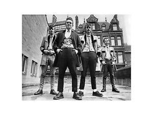 Rockin Jim Newark and the Teddy Boys in Tyneside England 1973 Print 60x80cm