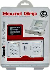 Nintendo DS Lite Rechargeable Stereo Speaker System Sound Grip Accessory iSound