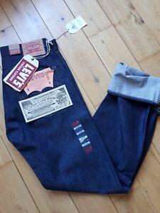 Levi's vintage  clothing 501  W32 L36 Selvedge modele 1966 denim rockabilly USA