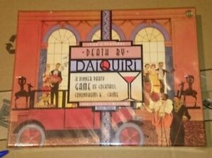 Death by Daiquiri – a dinner party game. Past Times 2003.New & sealed small tear