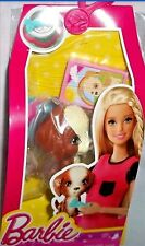 Barbie Accessory Pack Pet Story Puppy Food & Water Bowl Dog Toy New in Pack