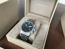 Burberry The Utilitarian Swiss BU7839 Stainless Chronograph Mens Watch
