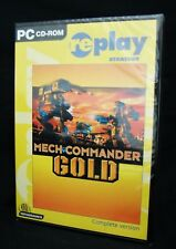 NEW MechCommander Mech Commander GOLD Edition w/Expansion