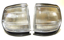 Toyota Land Cruiser HDJ 80 Chrome Indicators Corner Lights PAIR (LH+RH)