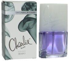 ( 100 ml =24,44 € ) 3 x Revlon Charlie Black 30 ml Eau de Toilette Spray = 90 ml