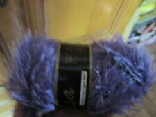 pelote  fils fourrure violette 063 neuve