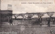 # MARINO: FONTANA MONUMENTALE SULLA PIAZZA UMBERTO I