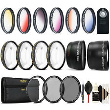 52mm Complete Accessory Kit for Nikon D3100 D3200 D3400 D5100 D5200 D5300 D5500