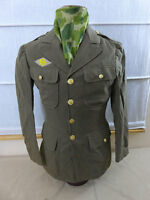 SC10/ Original US WW2 Service CLASS A UNIFORM JACKET US35L Ruptured Duck