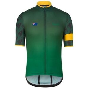 Rapha Super Lightweight Australia Jersey Green Size  Medium BNWT