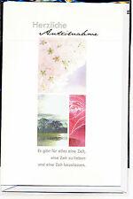 Trauerkarten Trauerkarte Beileidskarte 3 Stück sortiert sehr schöne Motive Neu 6
