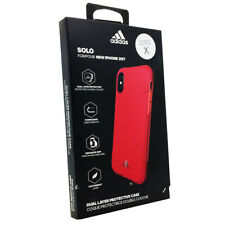 Adidas SOLO Dual Layer Protective Lightweight Case Cover for Apple iPhone Xs / X