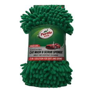 Turtle Wax Multi Use Scratch Free 2 In 1 Car Wash & Scrub Sponge