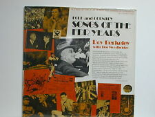 Roy Berkeley - Folk and Country Songs of the FDR Years, Longview L241, 1979 LP