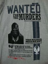 Dishonored Wanted T-Shirt 2XL Heather Gray Corvo Attano NEW Loot Crate Excl
