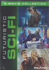 Futuristic Sci-Fi 3 Movie Coll. Aeon Flux/Ghost In The Shell/The Island New Dvd