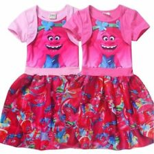 Trolls Cotton Dresses for Girls