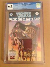CGC 9.8 Wonder Woman Rebirth Special Edition #1 WB Studio Tour Exhibit